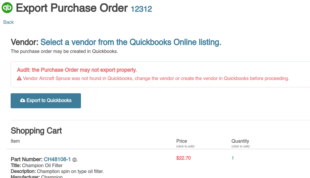 qbo purchase order audit