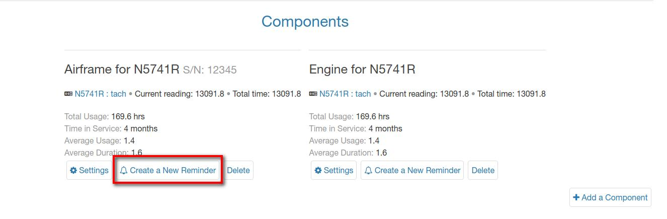 bookable components